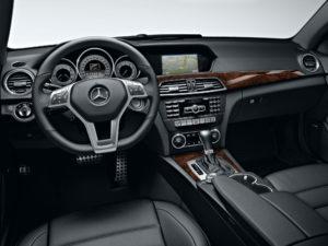 2013-Mercedes-C-Class-Coupe-Black-Burl-Walnut