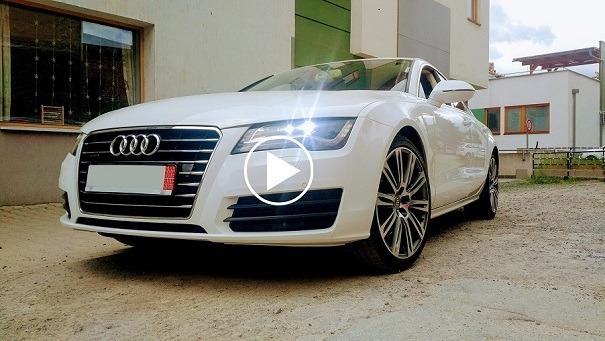 Obhliadka vozidla Audi A7 pre Mário, BB
